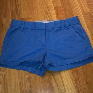 Cobalt Blue J.Crew Chino Shorts